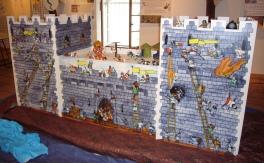 expo moyen-age dans un chateau